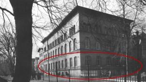 Foto des Hauptlehrgebäudes der Königlich Landwirtschaftlichen Akademie in Bonn