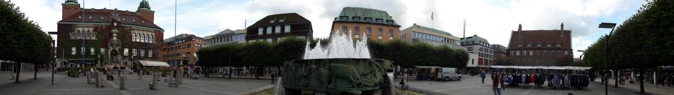 Die Stadt Borås