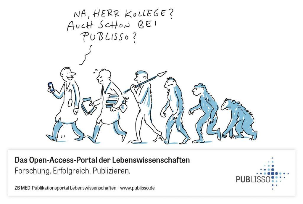 Motiv aus der PUBLISSO-Werbekampagne