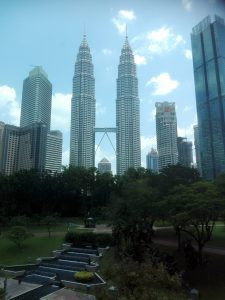 Die Twin Towers in Kuala Lumpur.
