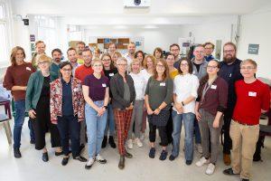 Auftaktveranstaltung Fellow-Programm Freies Wissen 2019/2020 vom 13. bis 15. September 2019 in Berlin, Gruppenbild