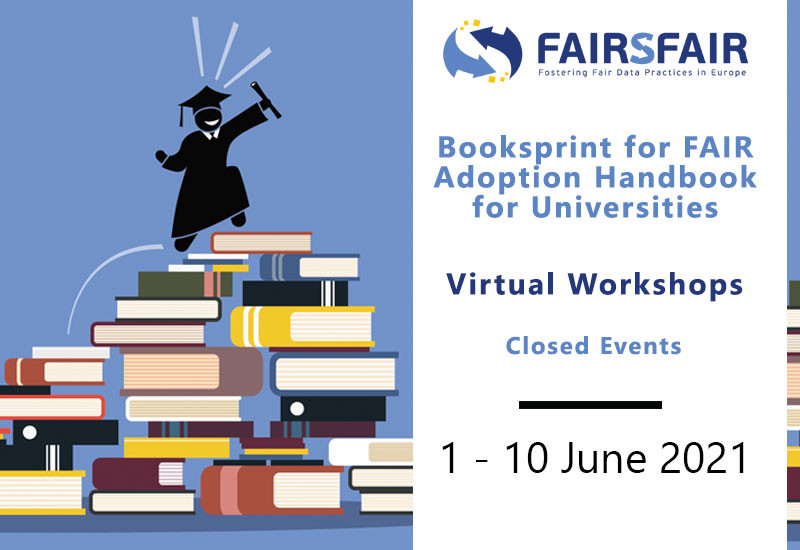 """Read more about the article """"Book sprint for FAIR Adoption Handbook for Universities"""" – Event organised by the EU-project FAIRsFAIR"""